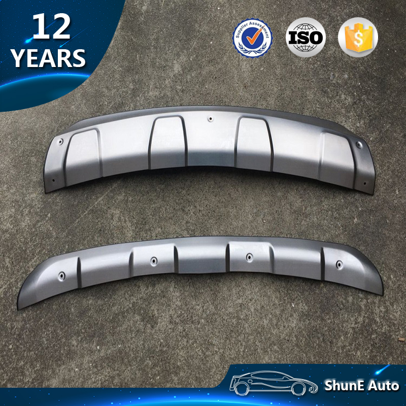 Steel Front Rear Bumper Protector Guard Skid Plate for Mazda CX-5 CX5 2012-2016