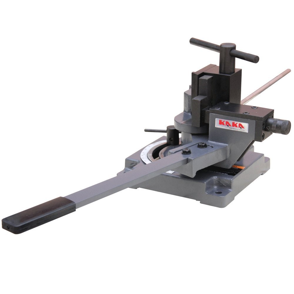 KAKA Industrial UB-100A Heavy-Duty Universal Bender, Sturdy Design Hot and Cold Sheet Metal Bender, High Accuracy Flat, Round, Square and Angle Steel Iron Metal Bar Bender
