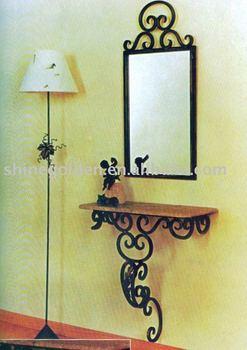 vintage wrought iron mirror frame - Wrought Iron Picture Frames