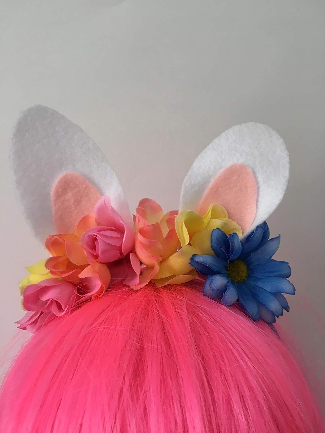 Get Quotations · Felt Bunny Ears Easter Headband 1e30a4cf9c92