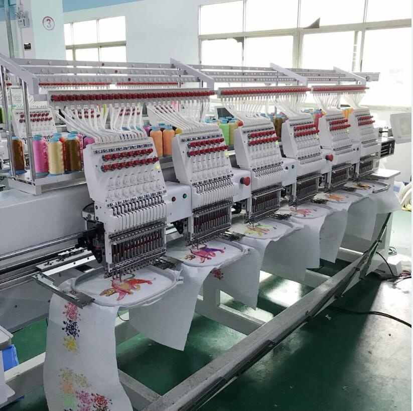 Computerized 6 heads embroidery machine price