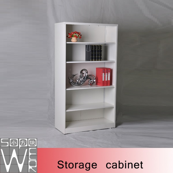 Firefighter Equipment Vertical Office Storage Cabinet With Open Shelves