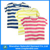 OEM custom fashion popular strip t-shirt