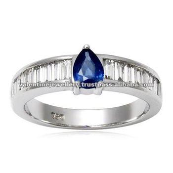 Yellow Gold Tanzanite Wedding Rings SetWedding Ring His And Hers