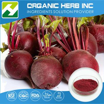 Factory price beta vulgaris l.(beet) extract