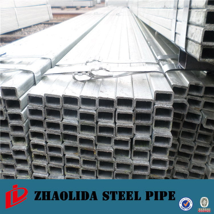 EN10219 gold supplier cs pre-galvanized square steel tube