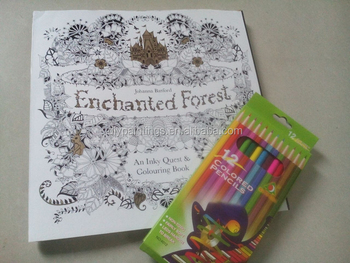 Secret Garden Series Enchanted Forest Adult Coloring Book