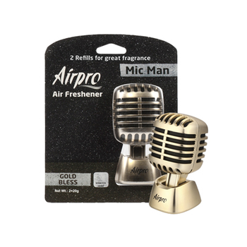Airpro ยี่ห้อ Luxury Series Mic Man รถ Air Freshener Classic Car Air Freshener
