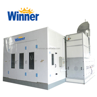WINNRE M3200C Car Paint Booth Spray Painting Room for Auto Body Repair Shop