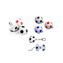 Shenzhen USB Factory Keychain Football Design USB Flash Drive