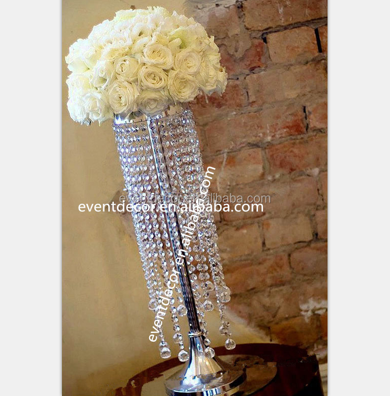 Crystal Table Top Chandelier Centerpieces For Weddings Table