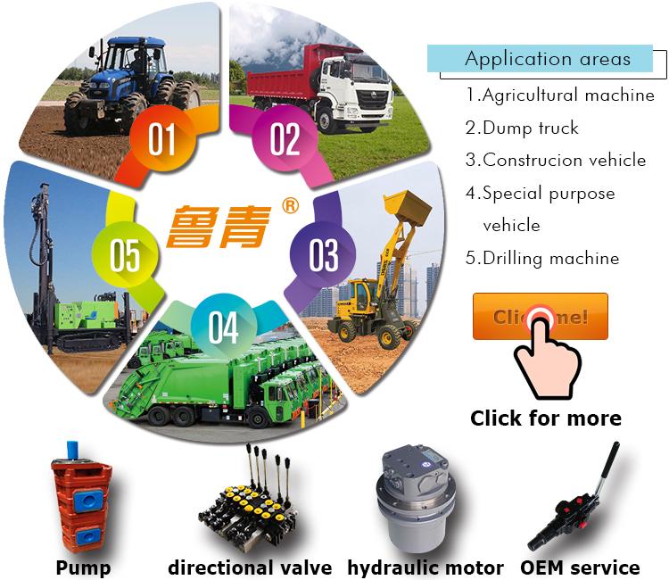 CBG2 시리즈 유압 기어 오일 펌프 티퍼 굴삭기