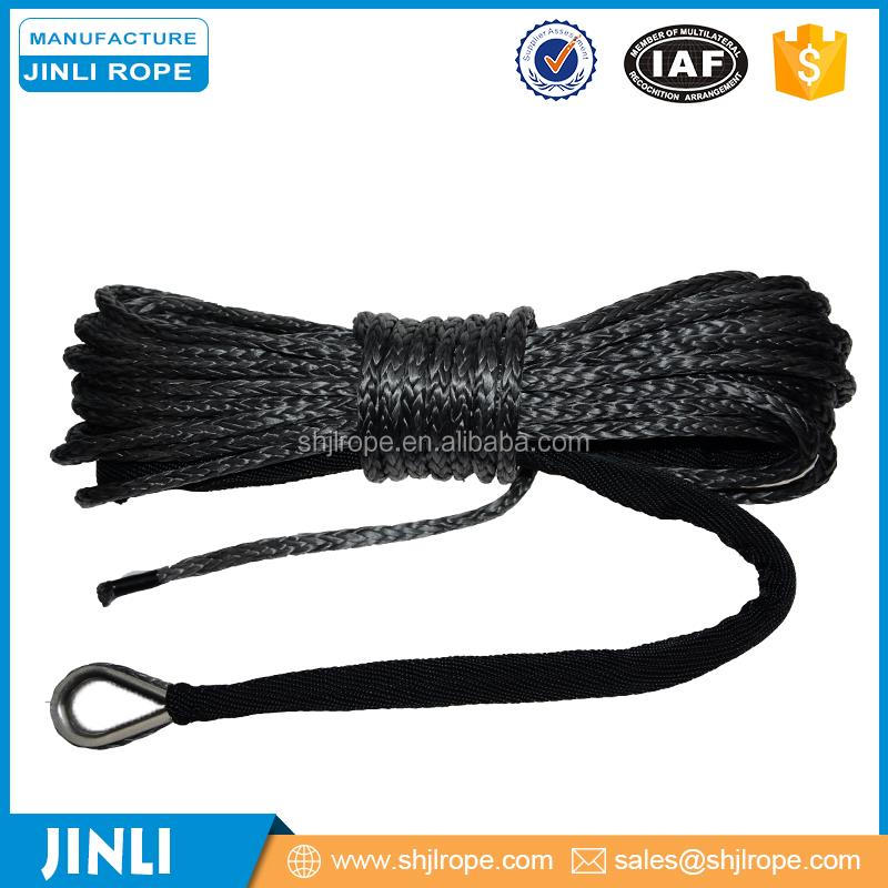jinli Rope) 9mm Plasma Atv Synthetic Winch Rope