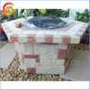 Popular garden warming MGO outdoor fire pit