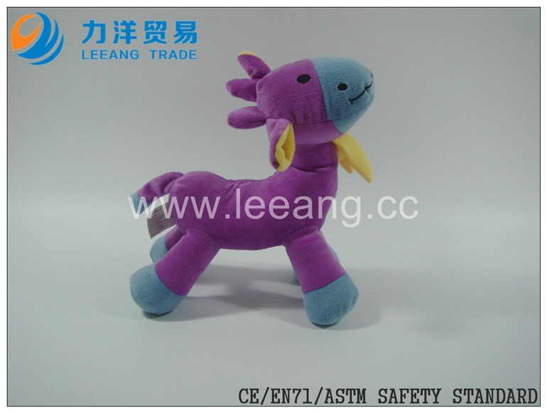 unstuffed toys plush toy skin without filling plush giraffe for crane machine claw Machine