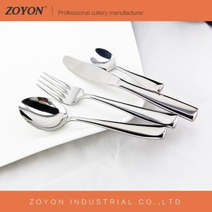 restaurant and hotel silver wedding cutlery and flatware