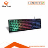 Rainbow Color RGB LED Keyboard for Gaming Keyboard for Gamers