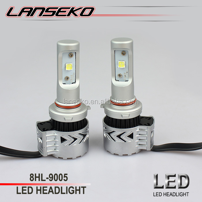 Factory price auto led headlamp 9005 9004 9006 9007 H1 H3 H4 H7 H8 H9 H11 led car light bulb