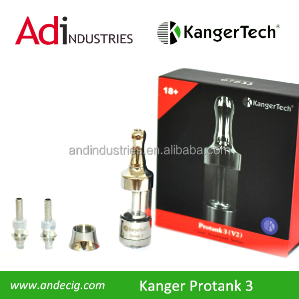 New version KangerTech Protank3! Protank 3! Pyrex and metal just like the Protank 1 and 2, but now with dual heating coils