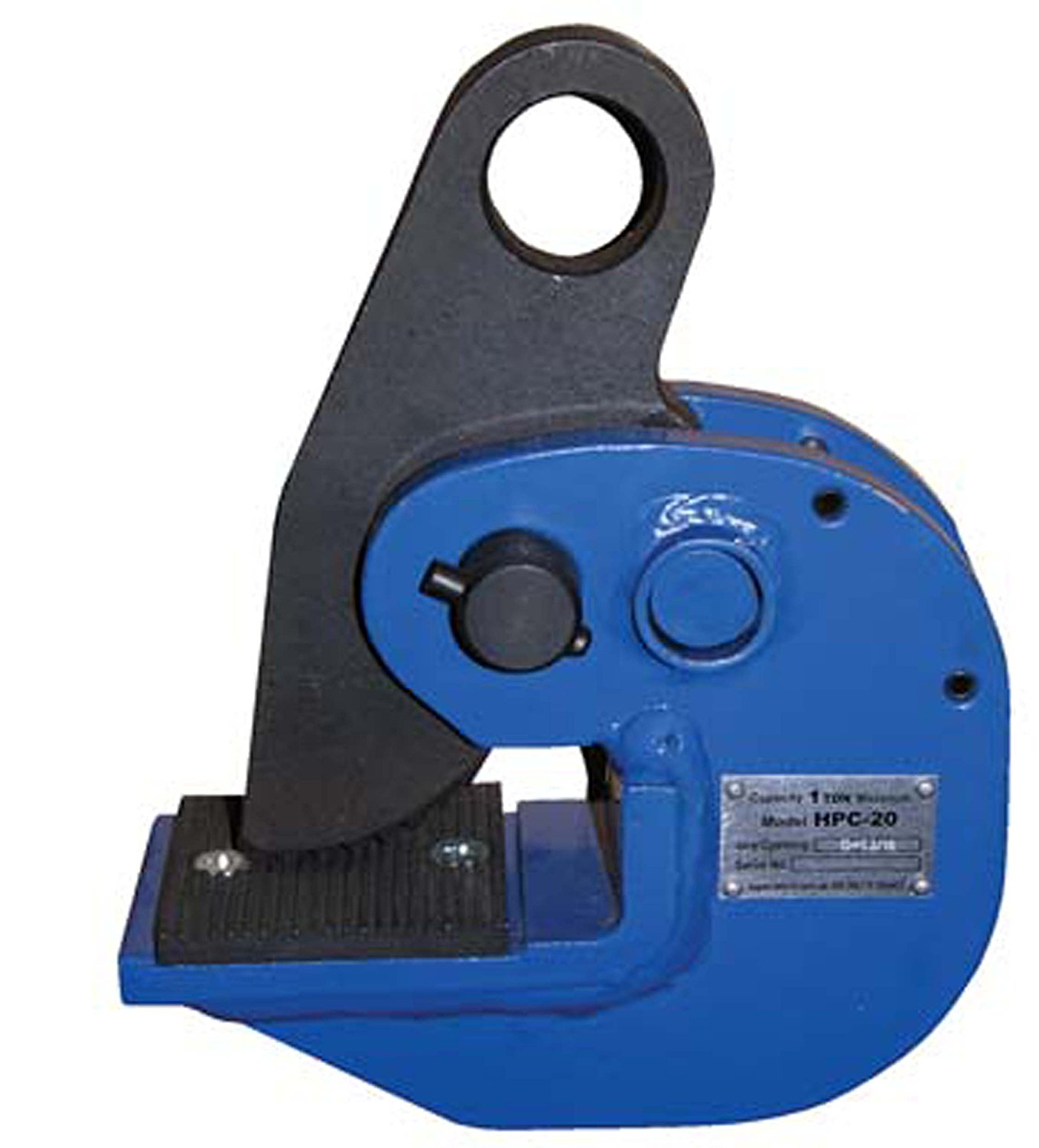 Vestil HPC-140 Horizontal Plate Lifting Clamp Steel 14000 lbs Working Load Limit 1-7//16 Plate Thickness 1.2 Bale Opening 1-7//16 Plate Thickness 1.2 Bale Opening Vestil Manufacturing Corp