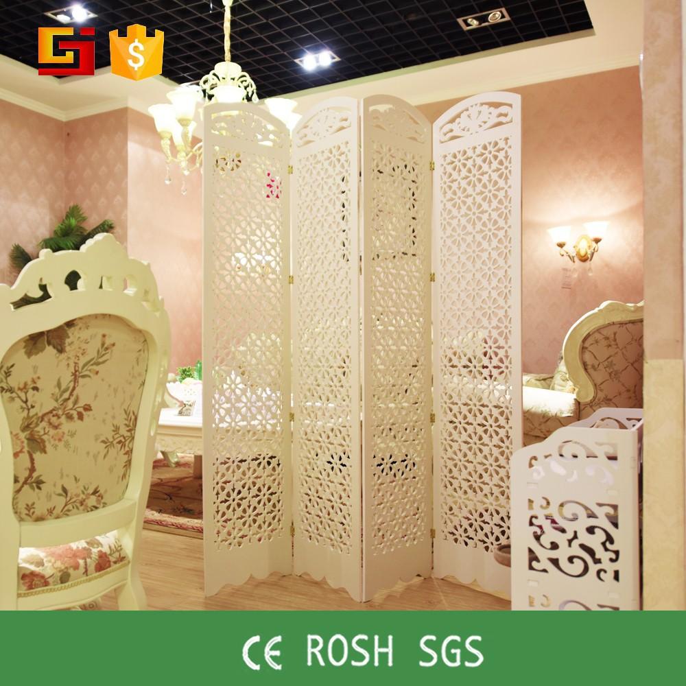 Gesneden houten opvouwbare gj mlg180 woonkamer decoratieve ...