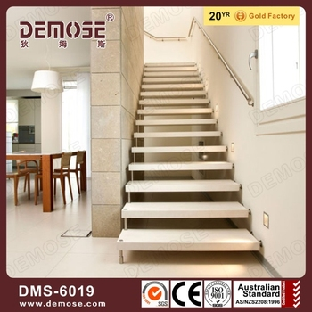 Fancy Open Riser Staircases/ Granite Staircase