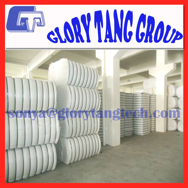3d/64mm 100% pla fiber, biodegradable corn fibre, crimped non woven fiber
