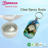 Affordable Transparent Two Parts Flexible Soft Epoxy Resin AB Glue for Key Chain