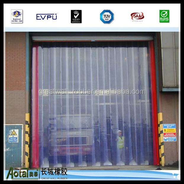 Clean Room Pvc Strip CurtainFreezer CurtainIndustrial Curtain Strips