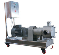 Stainless steel low shear food grade sine pump for high viscosity medium