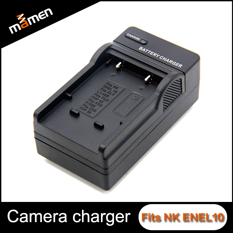 2017 New Fashional Digital Camera Battery Charger Mixed Charger ENEL10 For Nikon Accessories
