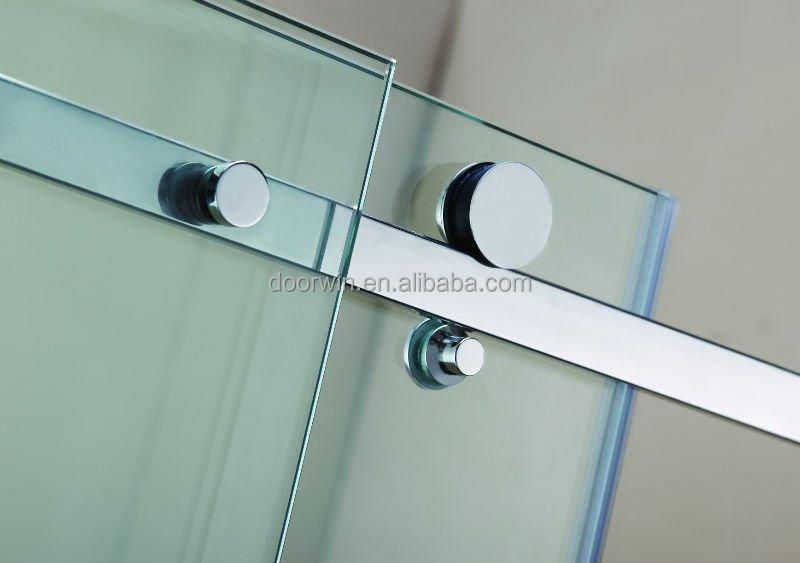 Modern house bathroom frameless sliding glass shower door price ...