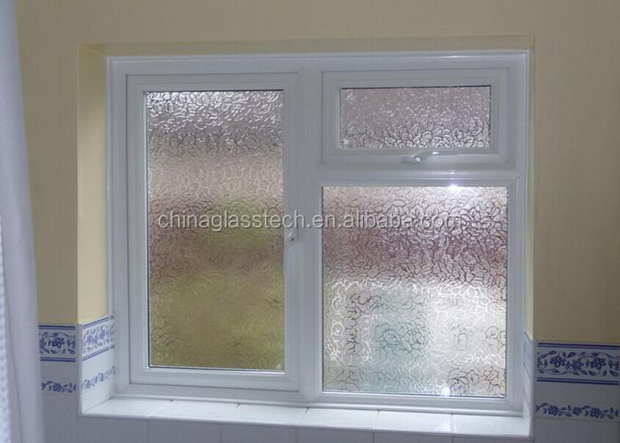 Ventilatie Badkamer Deur : Residentiële gelamineerd glas europese type badkamer deur ventilatie