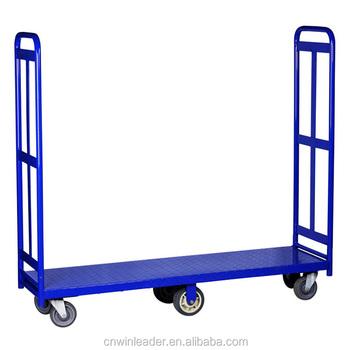 high quality 6 wheels folding warehouse utility cartu boat cart yldft003