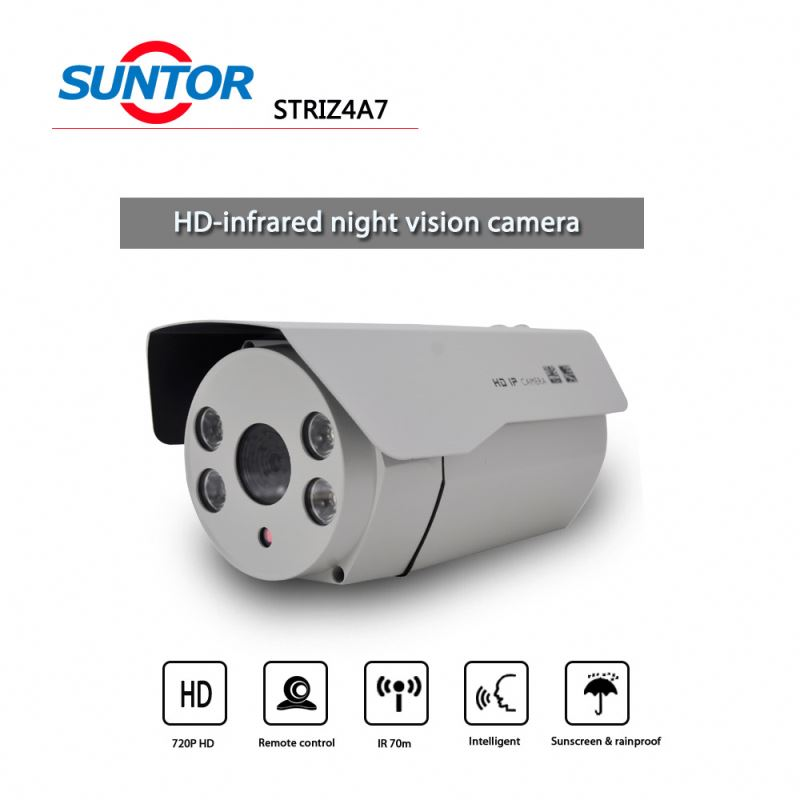 Zome integration Camera 720P Color 1/4' Infrared sensors,color ro black low-light focus high-speed camera/cctv camera
