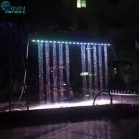 AQUA show water writing digital water curtain wedding event decoration equipment