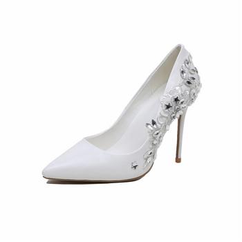 Jeweled Diamond Crystal Wedding Shoes