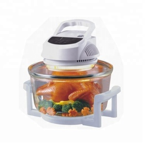 New Design multifunctional 12L 220~240V, 50/60Hz,1200-1400W Smoke-free turbo desktop Halogen Oven