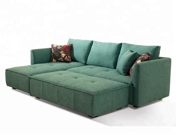 New Modern Green Fabric L Shape Corner Sofa Design Contemporary Furniture -  Buy Fabric Sofa,L Shape Corner Sofa,Fabric Corner Sofa Product on ...