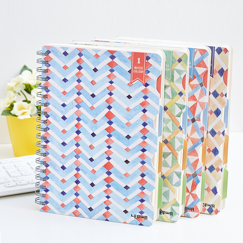 Wholesale B5 Decorative Style School Coil Notebook