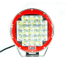 Rote Runde 9 ''96 Watt s Led Flood Arbeitslicht 4WD Offroad VS Hid 100 Watt