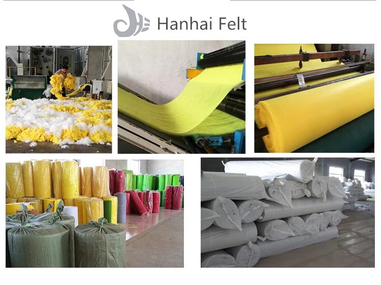 equitable price good quality wholesale color Wool felt wool felt fabric