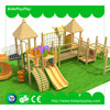 2016 Best Quality Modern Style Outdoor Children Wooden Pirate Ship Playground