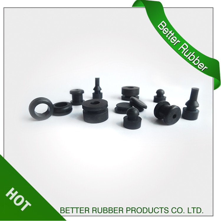 Quality guaranteed factory custom molded rubber wire grommet