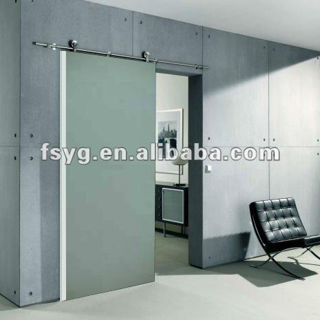 Corredizas de vidrio esmerilado yg d13 puerta puertas - Puertas corredizas de vidrio ...