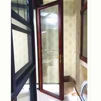 Modern design large interior aluminium door for house