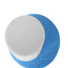 17-20 inch Hoge-Kwaliteit <span class=keywords><strong>Ronde</strong></span> Melamine Foam Pads Polijsten Floor Cleaning Pads