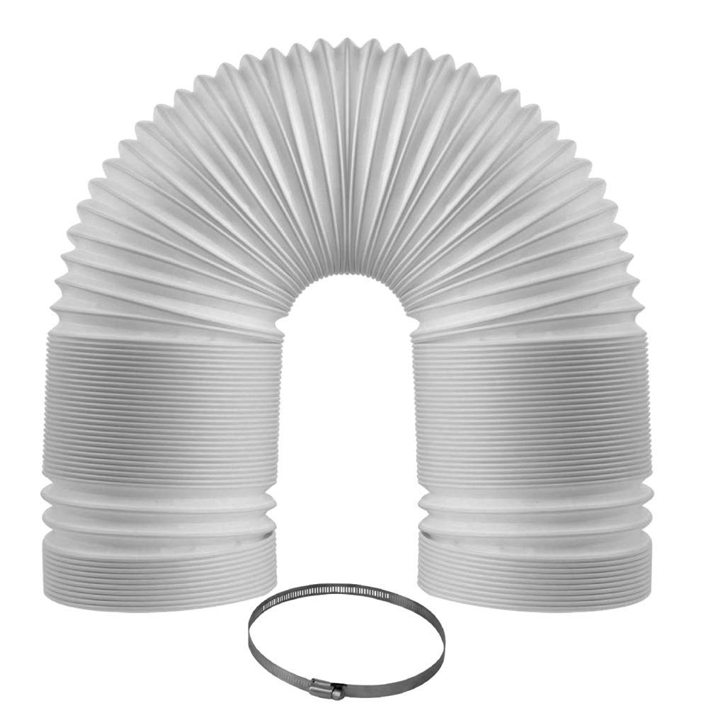 5 Inch Diameter, 59 Inch Length Skylety Portable Air Conditioner Exhaust Hose Counterclockwise 5 Inch Diameter Universal