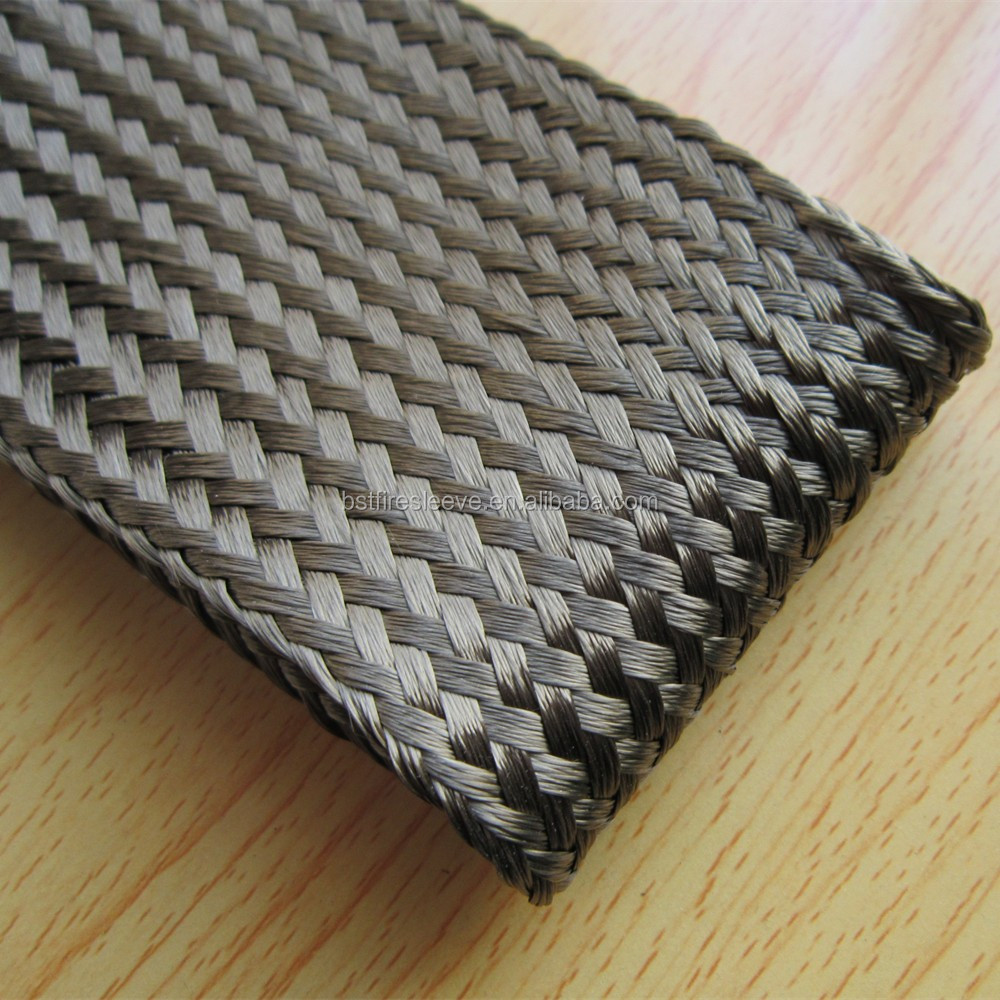 China Expandable carbon fiber braided sleeve for high strength tubular structure