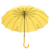 QIFENG 14P-1401 Customized Logo With Plastic Handle  Waterproof Advertising Straight yellow child Umbrella
